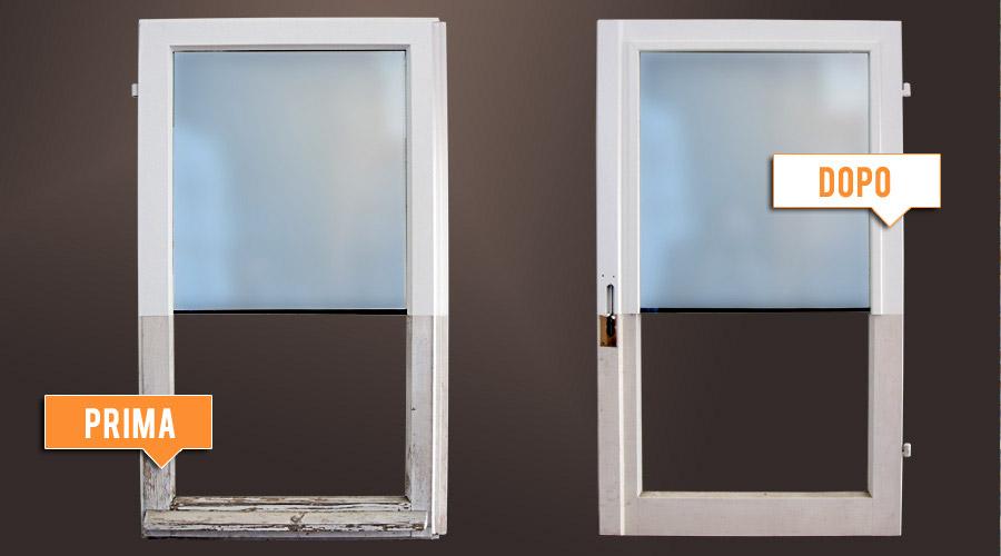 Smalti per legno e metalli edilver colorificio milano - Restauro finestre in legno ...