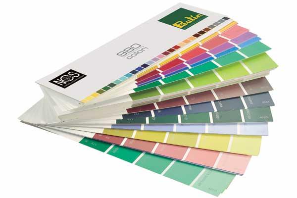 formulazione colori al campione